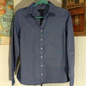 Land's End chambray shirt - Women's Medium